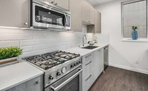 Kitchen at 1541B 14th Ave in Beacon Hill