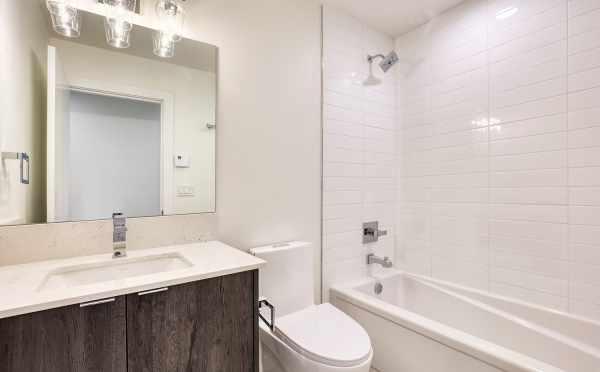 First-Floor Bathroom at 14339C Stone Ave N