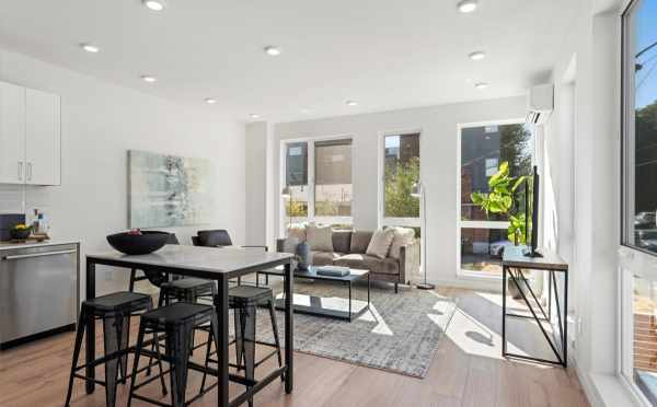 Dining Area and Living Room at 6421 14th Ave NW