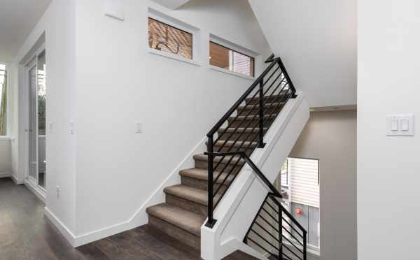 Stairs to the Second Floor of 11518A NE 87th St