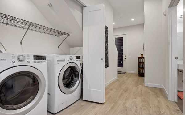 Laundry Room at 1494 NW 75th Street of Talta in Ballard