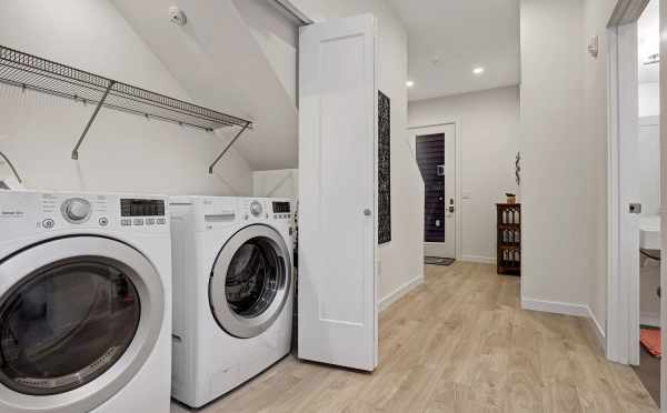 Laundry Room at 1494 NW 75th Street of Talta in Ballard