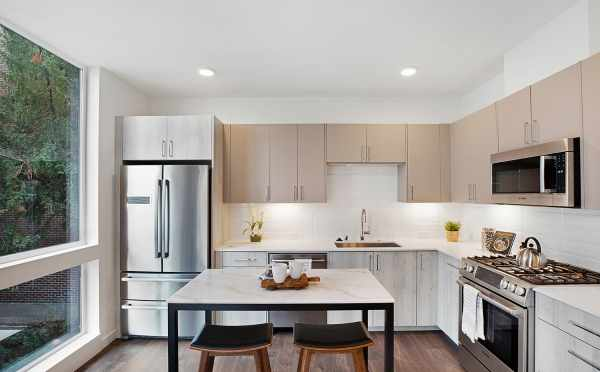 Stainless Steel Appliances in the Kitchen of 1113 E Howell St