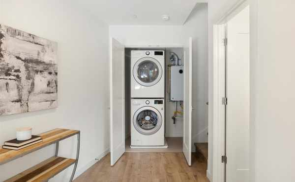Stackable Washer and Dryer at 445 NE 73rd St in the Verde Townn 2 in Green Lake