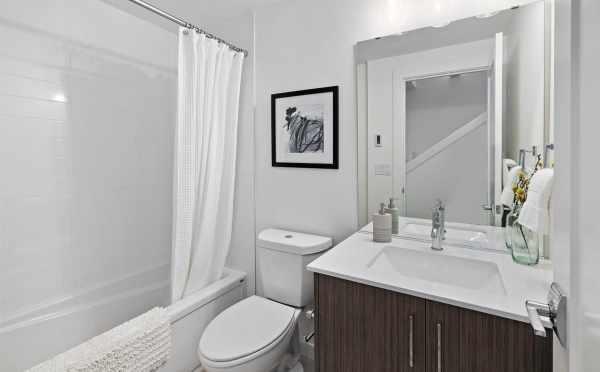 First-Floor Bathroom at 6309F 9th Ave NE