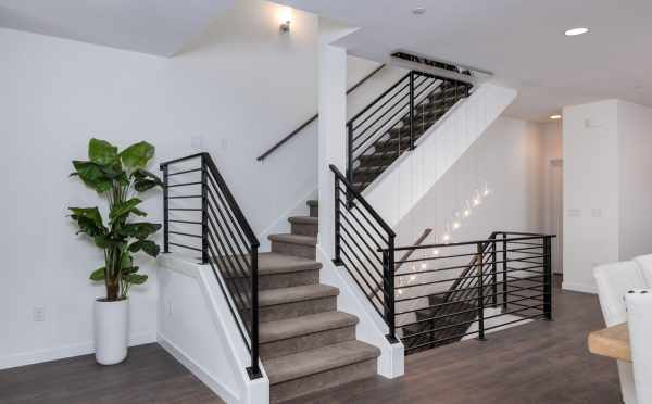 Staircase on the Second Level of 11514B NE 87th St