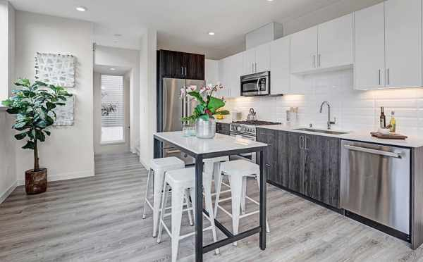 Kitchen at 7219 5th Ave NE in Verde Towns 3 by Isola Homes