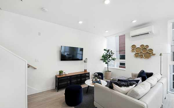 Living Room in 7528A 15th Ave NW, Townhome in Talta Ballard
