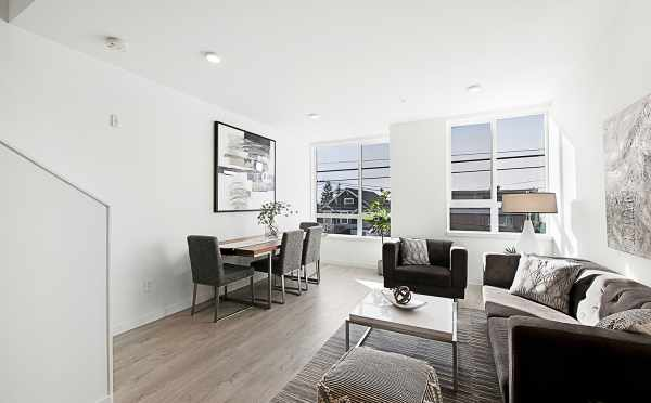 Living Room of 7530B 15th Ave NW, Live-Work Unit in Talta Ballard