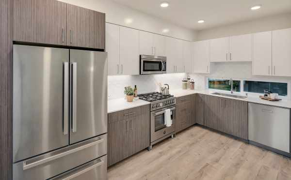 Kitchen at 2506 Everett Ave E in the Baymont Townhomes