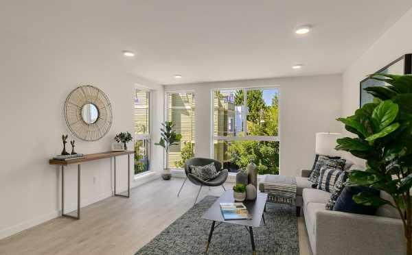 Living Room at 2508 Everett Ave E