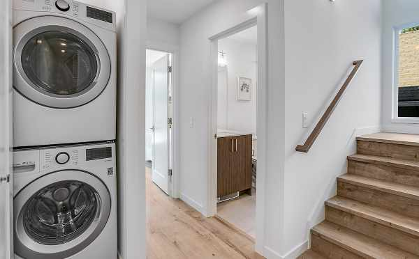 Stackable Washer and Dryer at 422F 10th Ave E