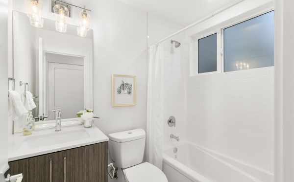 First Bathroom at 418F 10th Ave E