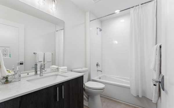 First-Floor Bathroom at 6415 14th Ave NW