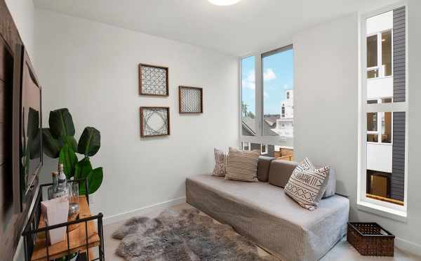 First Bedroom at 809B N 47th St