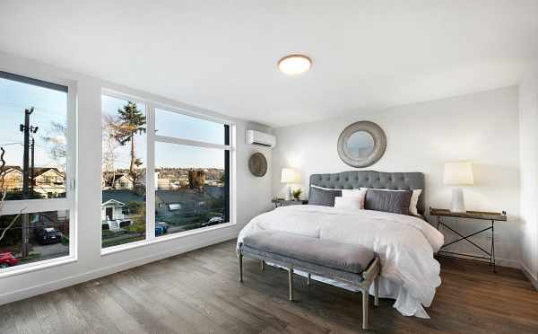 Master Bedroom in Twin II Duplex with Lake Views