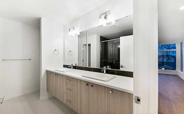 Master Bath in One of the Twin II Townhomes