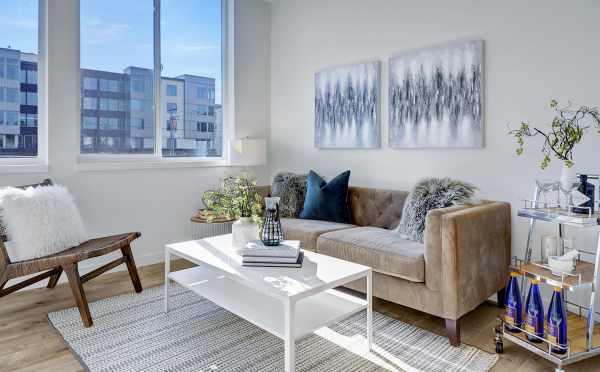 Living Room at 437D NE 73rd St