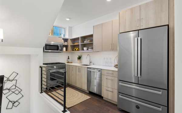 Kitchen at 6317E 9th Ave NE in Zenith Towns North