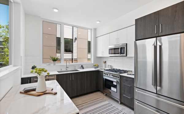 Kitchen at 6313C 9th Ave NE in Zenith Towns West in Roosevelt