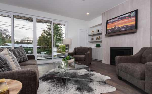 Living Room at 11514B NE 87th St