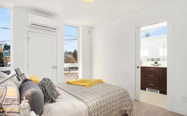 Master Bedroom in 1112F 13th Avenue of Centro Townhomes
