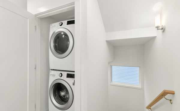 Stackable Washer and Dryer at 418F 10th Ave E