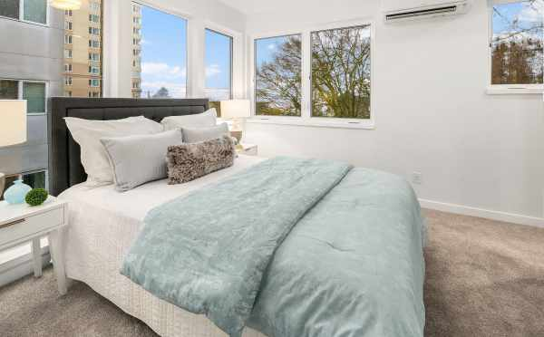 Master Bedroom at 1541B 14th Ave