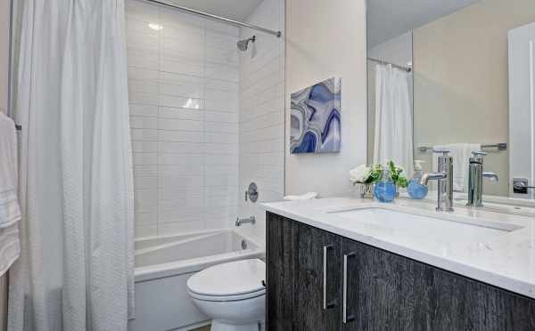 Bathroom on the Second Floor at 2414B NW 64th St
