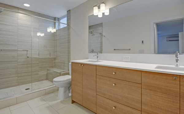 Master Bathroom at 3525 Wallingford Ave N