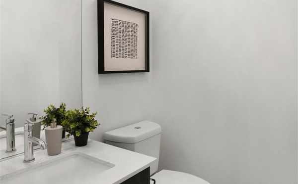 Powder Room on the Second Floor of 807 N 47th St