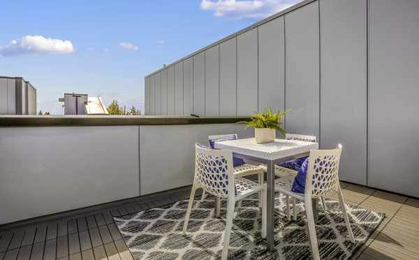 Roof Deck at 1327 NW 85th St in Crown Hill