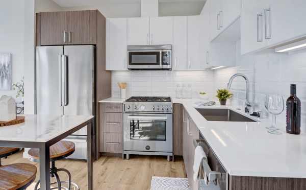 Kitchen at 437D NE 73rd St