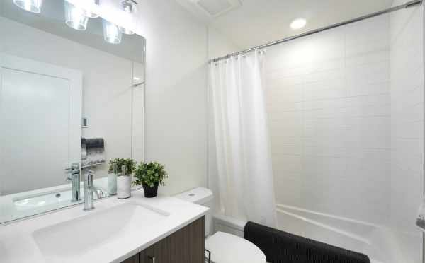 Second Bathroom at 449 NE 73rd St
