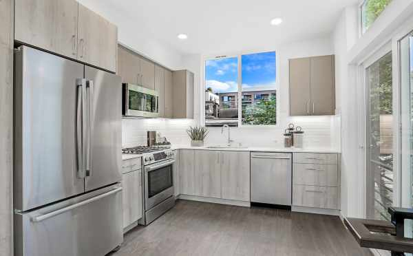 Kitchen at 1724B 11th Ave, One of the Wyn on 11th Townhomes