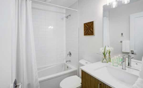 Second Bathroom at 503B NE 72nd Street
