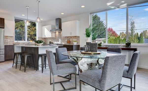 Dining Room in 11518B NE 87th Street in Kirkland Highlands