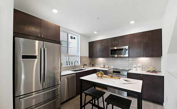 Kitchen in 7528A 15th Ave NW, Townhome in Talta Ballard