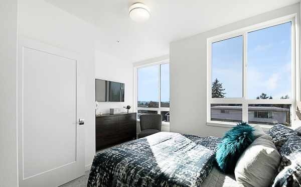 Master Bedroom in 7530B 15th Ave NW, Live-Work Unit in Talta Ballard