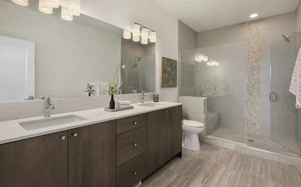 Master Bathroom at 1644E 20th Ave