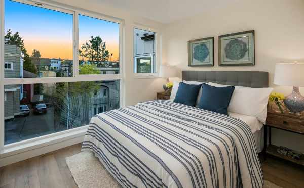 Master Bedroom at 2506 Everett Ave E in the Baymont Townhomes