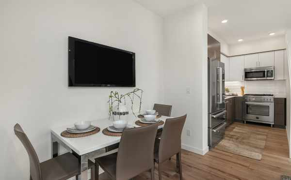 Dining Area at 6539F 4th Ave NE, in the Bloom Townhomes in Green Lake