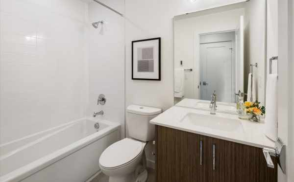 First Bathroom at 1812 E Spruce St