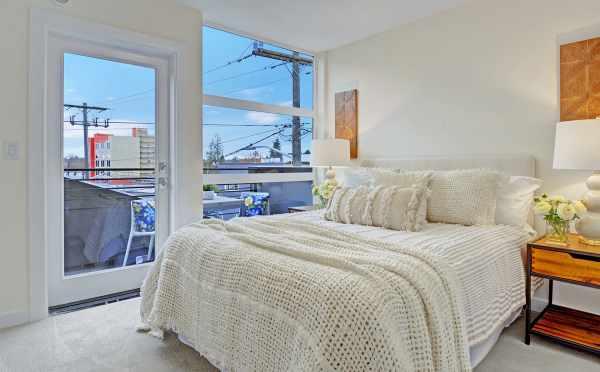 Master Bedroom at 503B NE 72nd Street