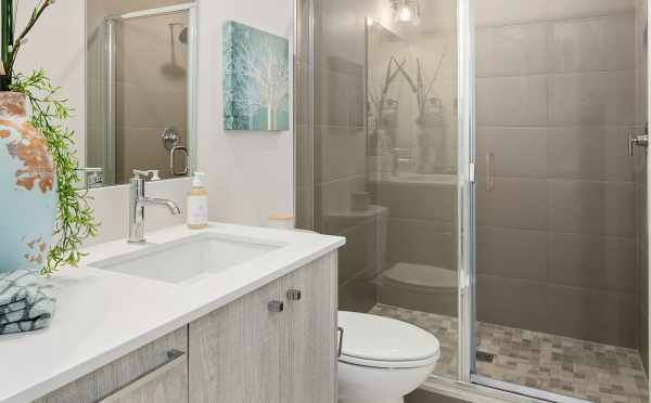 Master Bathroom at 1541B 14th Ave