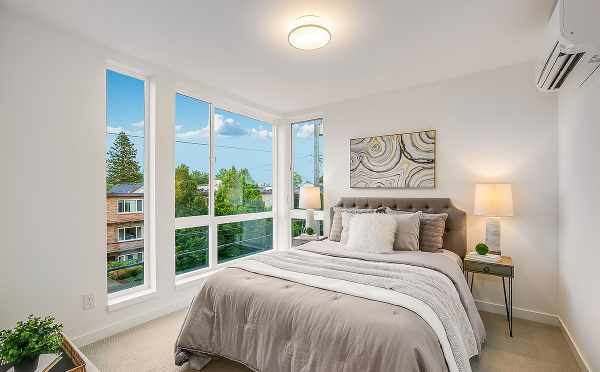 Master Bedroom at 6111 17th Ave NW in the Kai Townhomes