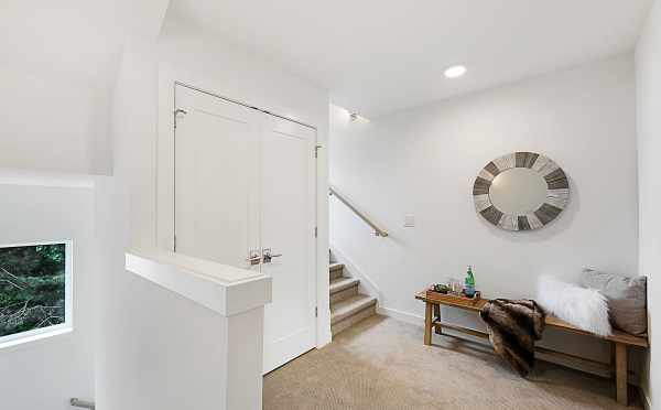 Landing Outside the Master Bedroom at 3537 Wallingford Avenue N