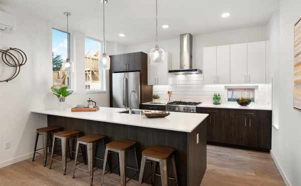 Kitchen of 807 N 47th St of Sunstone at Fremont