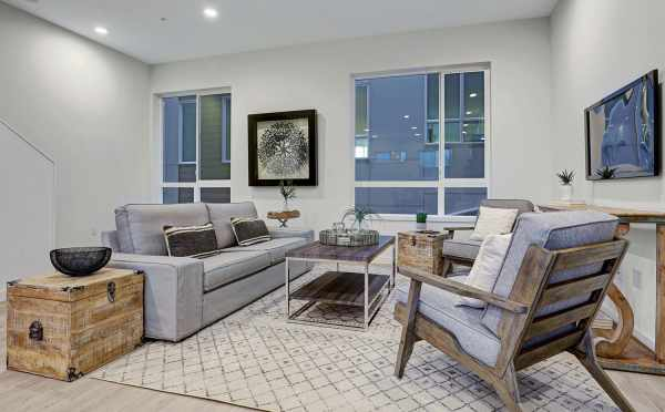 Living Room at 1494 NW 75th Street