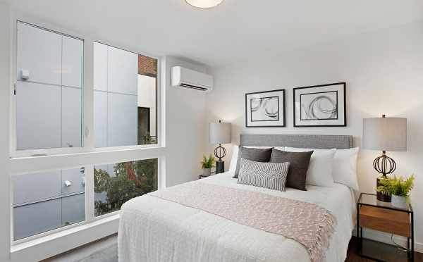 Master Bedroom at 1113 E Howell St of the Wyn Townhomes